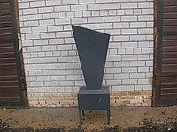 Памятник на могилу металлический прямой, фото 1