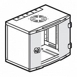 Шкаф настенный Legrand XL VDI, 9U 500*600*400мм