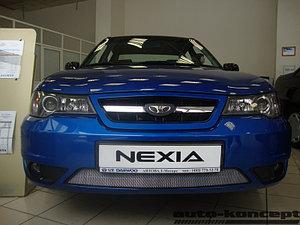 Защита радиатора Daewoo Nexia 2010- chrome