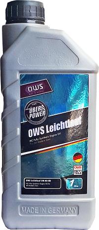 Моторное масло OWS Leichtlauf 5w40 1 литр