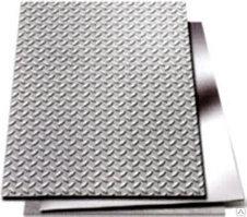 Лист рифленый, чечевица 4-12 мм х1500х6000 Ст3сп ГОСТ 8568-77