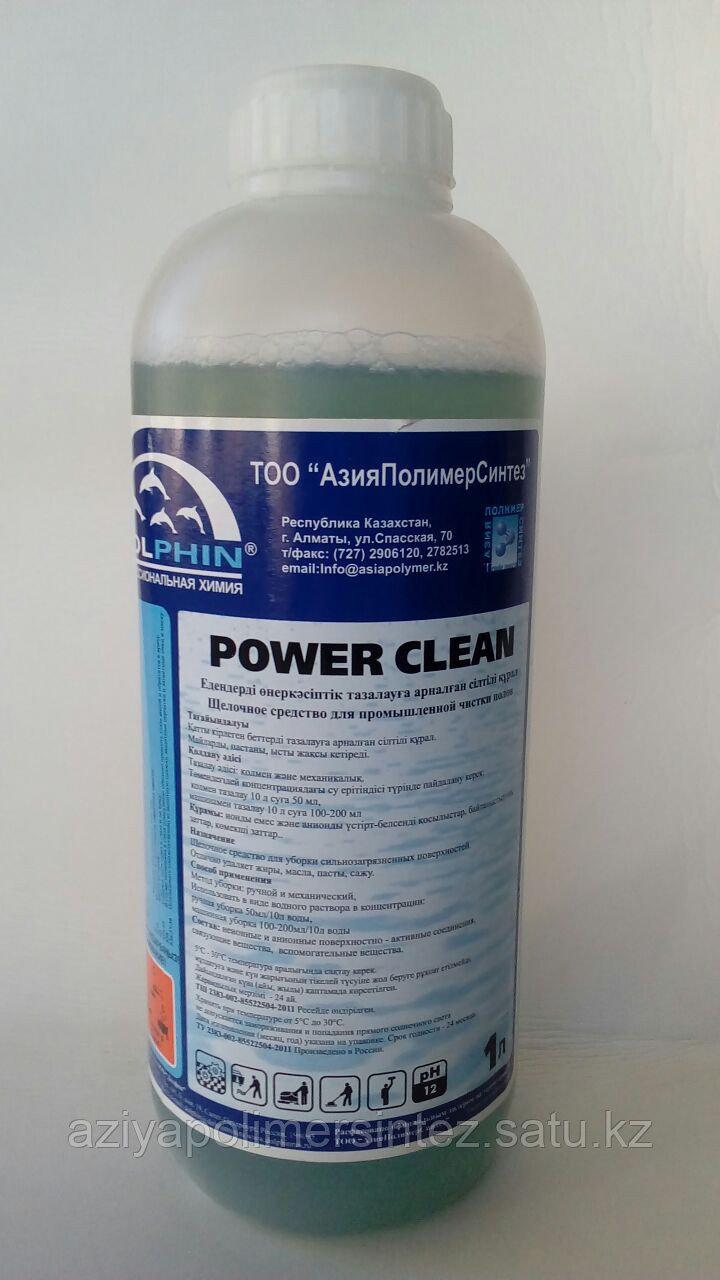 Концентрированное средство для очистки полов производственного назначения - Dolphin POWER CLEAN 1 литр