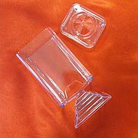 Контейнер для ватных дисков квадратный