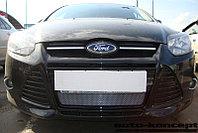 Защита радиатора Ford Focus III 2011-2014 chrome
