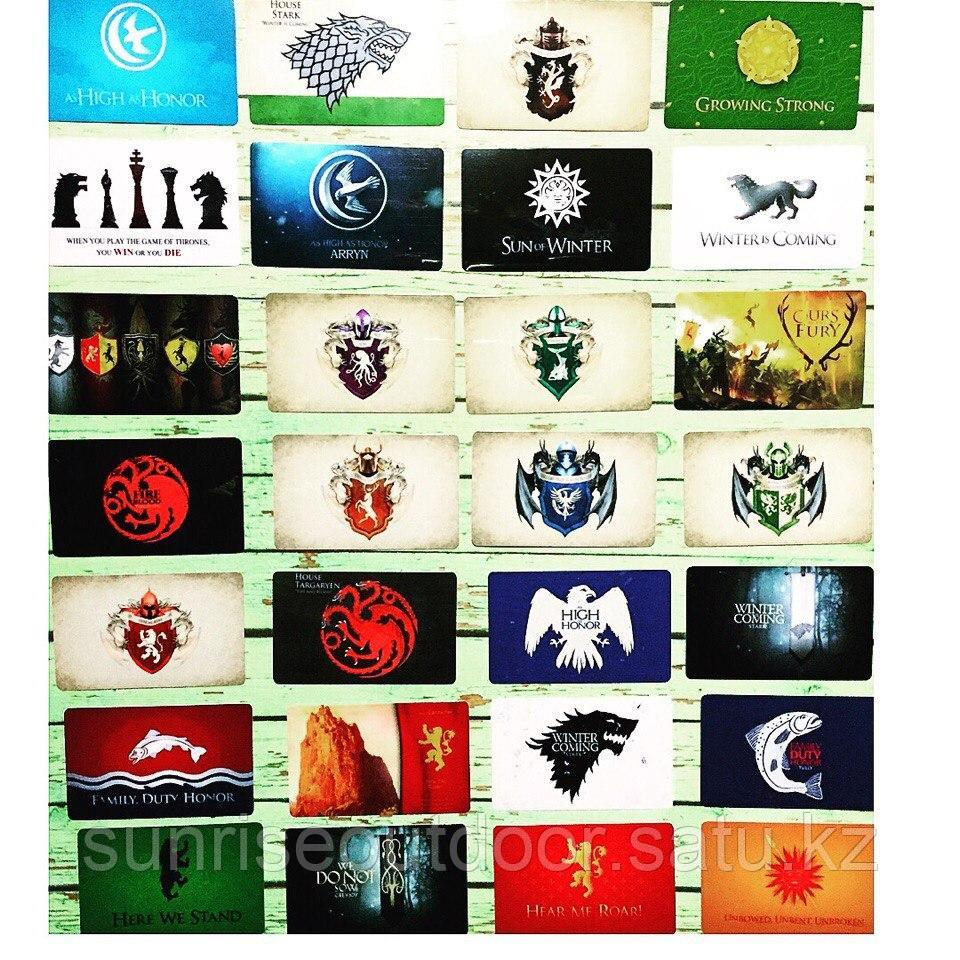 Коллекционная наклейка(стикер) Game of thrones, поштучно - фото 1