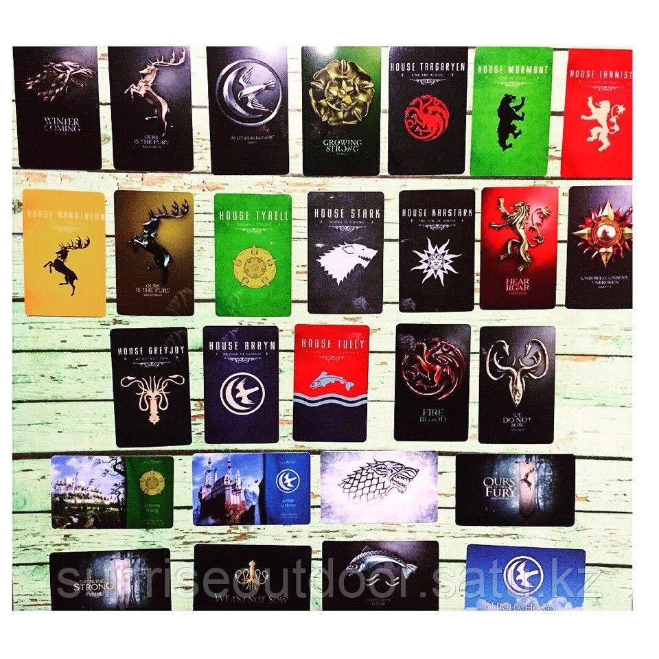 Коллекционная наклейка(стикер) Game of thrones, поштучно - фото 2