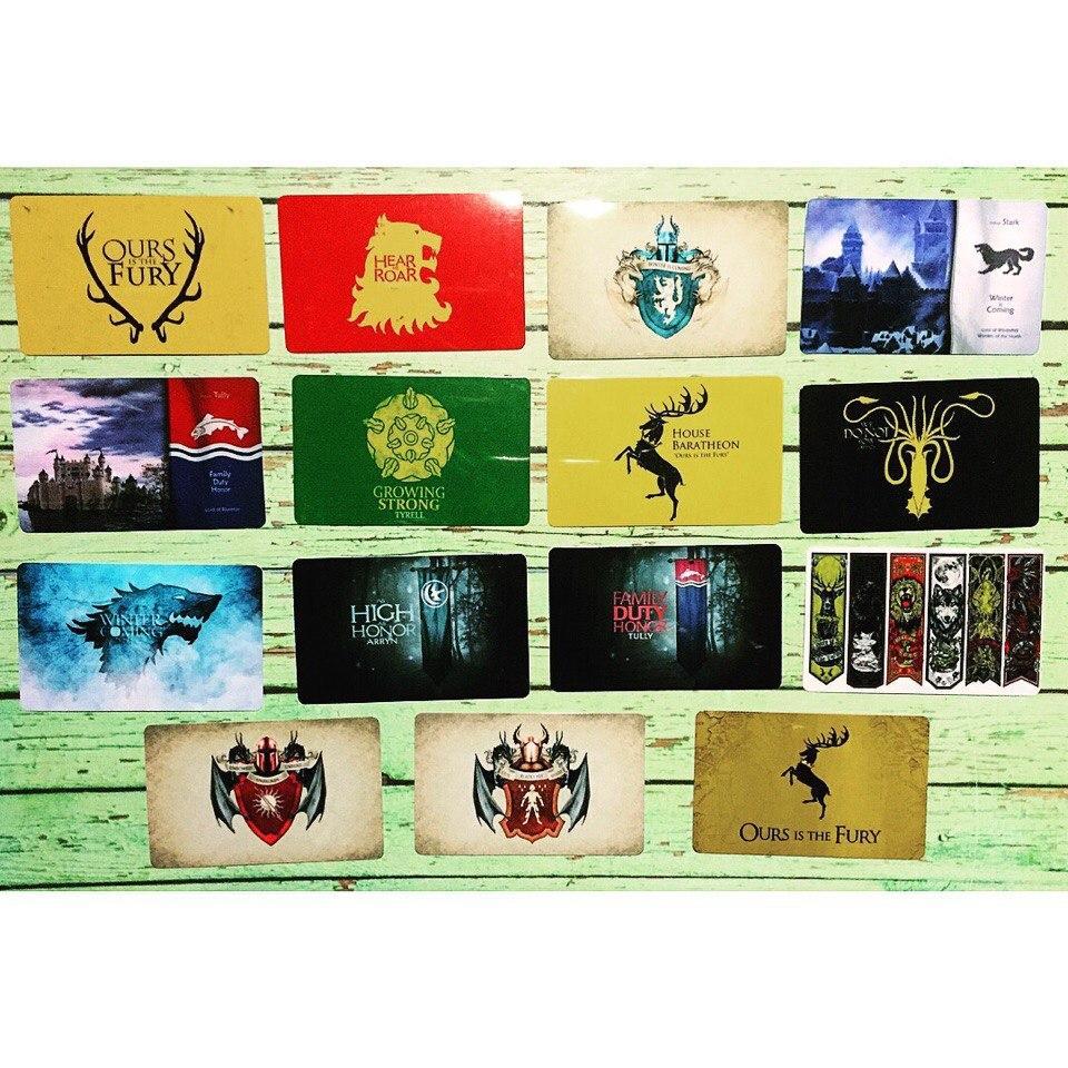 Коллекционная наклейка(стикер) Game of thrones, поштучно - фото 3