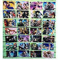 Коллекционная наклейка(стикер) Sword art online, поштучно