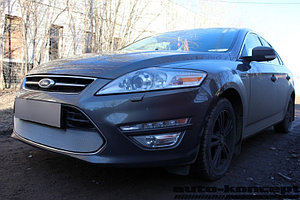 Защита радиатора Ford Mondeo IV 2012-2014 chrome