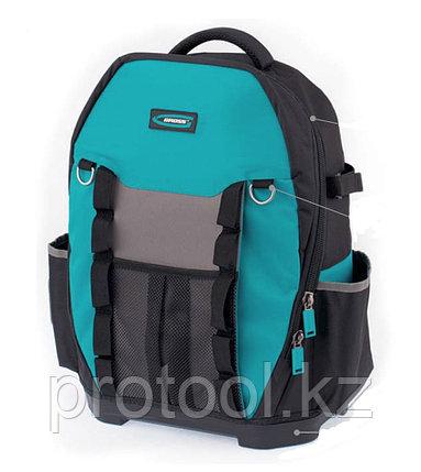 Рюкзак для инструмента Experte, 77 карманов, пластиковое дно, органайзер, 360*205*470мм// GROSS, фото 2