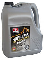 Моторное масло Petro-Canada Supreme 5w20 4 литра