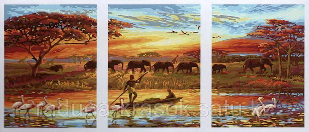 "Картины по номерам ""Африка"""