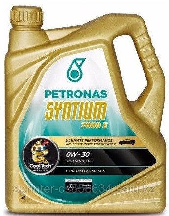 Моторное масло Petronas SYNTIUM 7000 E 0w30 4 литра