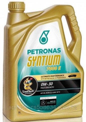 Моторное масло Petronas SYNTIUM 7000 E 0w30 5 литров