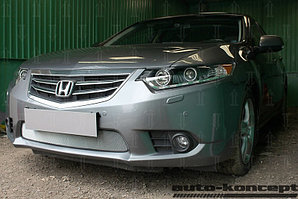 Защита радиатора Honda Accord VIII (рестайлинг) 2011-2013 chrome