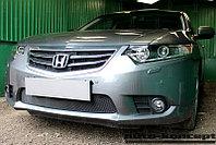 Защита радиатора Honda Accord VIII (рестайлинг) 2011-2013 black