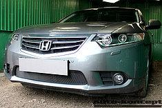 Защитно-декоративные решётки радиатора Honda Accord VIII (рестайлинг) 2011-2013