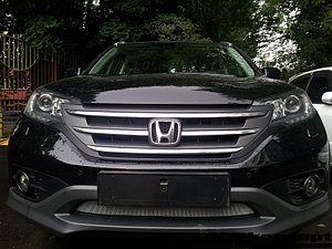 Защита радиатора Honda CR-V IV 2012-2015 2.0 chrome