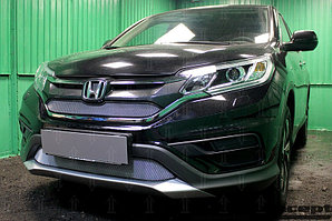 Защита радиатора Honda CR-V IV 2015-2017 2.0 chrome верх