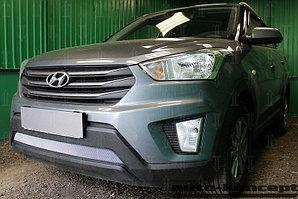 Защита радиатора Hyundai Creta 2016- chrome