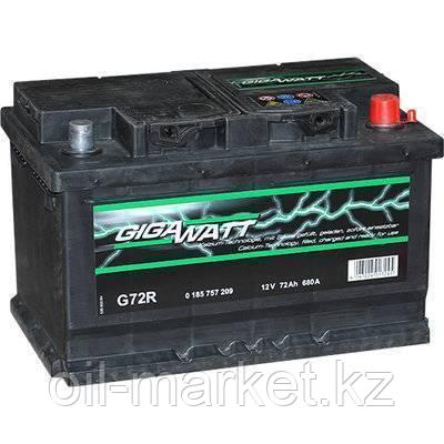 Аккумулятор Gigawatt 72 A/h, фото 2