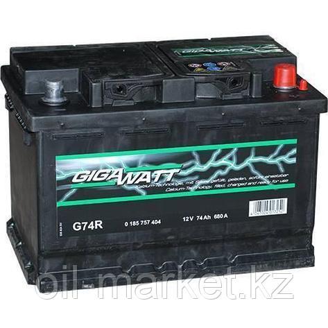 Аккумулятор Gigawatt 74 A/h, фото 2