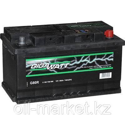 Аккумулятор Gigawatt 80 A/h, фото 2