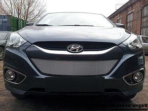 Защита радиатора Hyundai IX35 2010- chrome