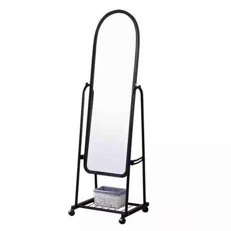 Зеркало напольное с колёсиками