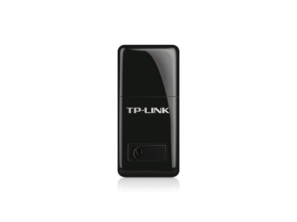 Беспроводной мини сетевой USB-адаптер серии N, до 300 Мбит/с, TP-Link, TL-WN823N