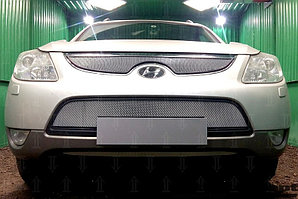 Защита радиатора Hyundai IX55 2009-2013 chrome низ