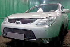 Защитно-декоративные решётки радиатора Hyundai ix55