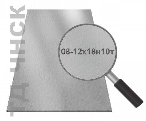 Лист зеркало в пленке 1,0мм 08х17(AISI430)