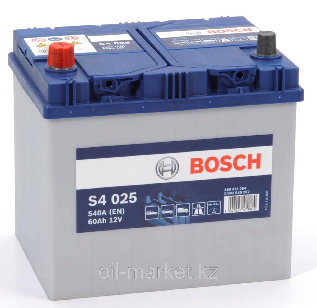 Аккумулятор Bosch Asia 60 Ah