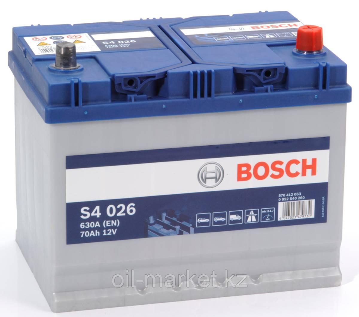 Аккумулятор Bosch Asia 70 Ah