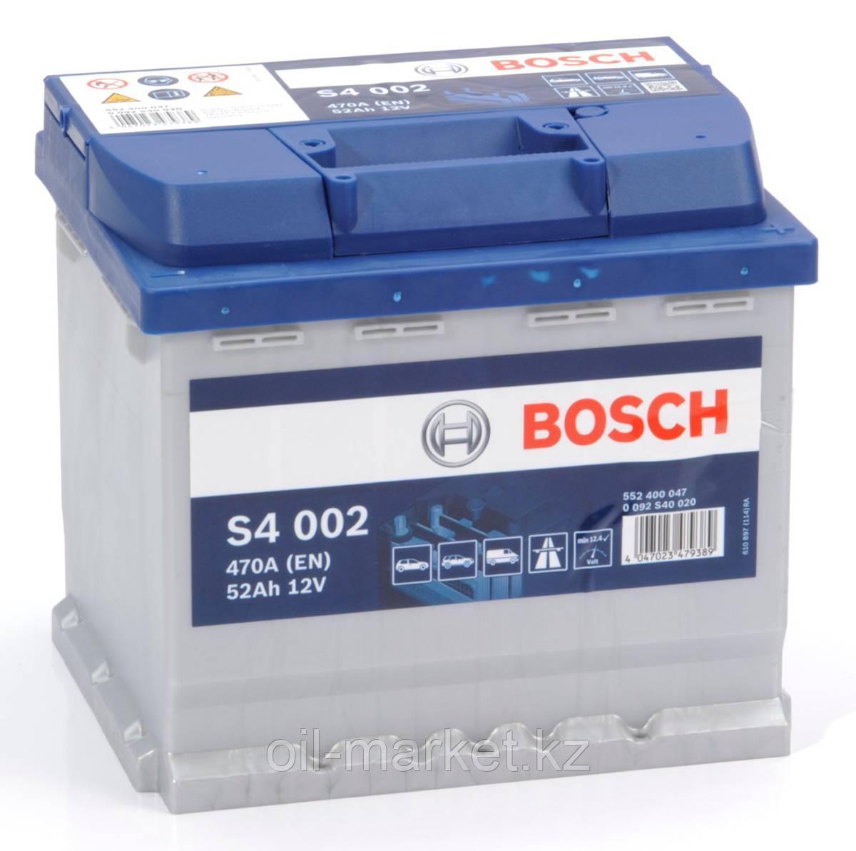 Аккумулятор Bosch EURO 52 Ah
