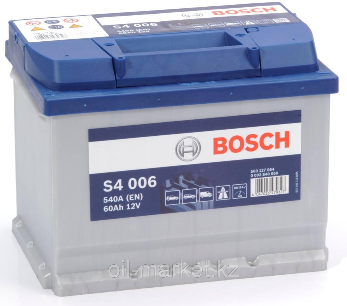 Аккумулятор Bosch EURO 60 Ah