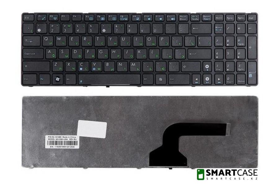 Клавиатура для ноутбука Asus G60 (черная, RU)