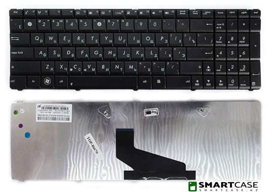 Клавиатура для ноутбука Asus K53TA (черная, RU)
