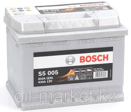 Аккумулятор Bosch EURO 63 Ah, фото 2