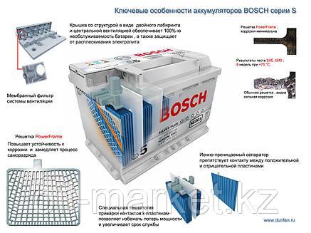 Аккумулятор Bosch EURO 72 Ah, фото 2