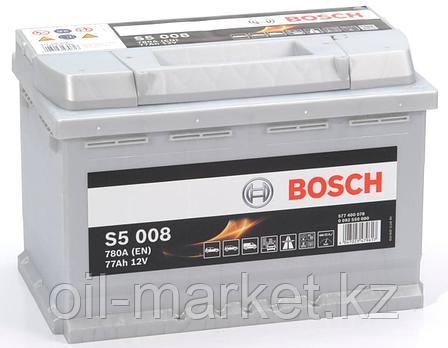 Аккумулятор Bosch EURO 77 Ah, фото 2