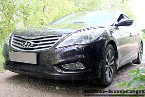 Защита радиатора Hyundai Grandeur V 2011- black
