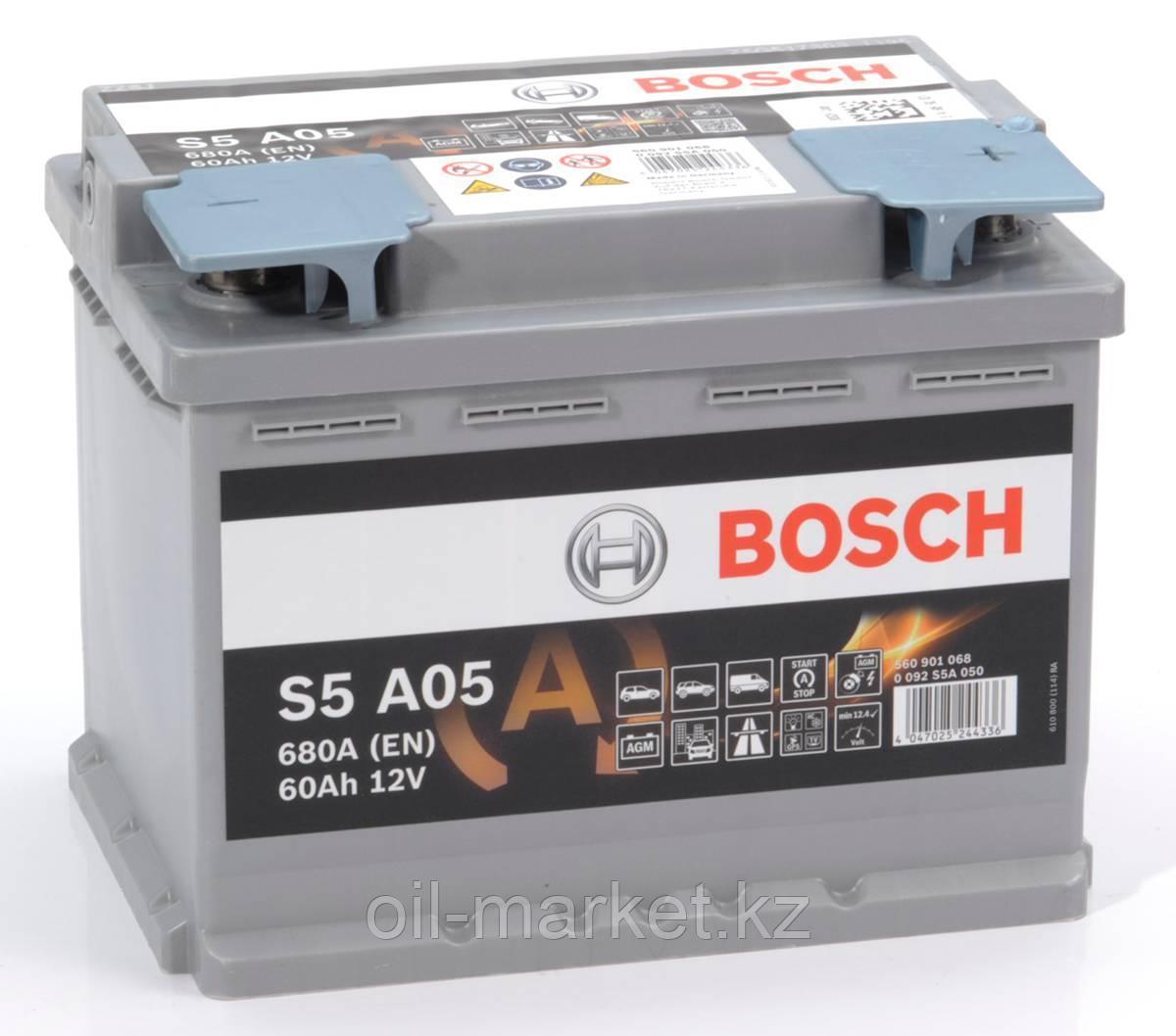 Аккумулятор Bosch S6 AGM 60 Ah
