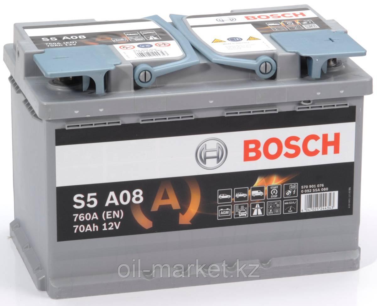 Аккумулятор Bosch S6 AGM 70 Ah
