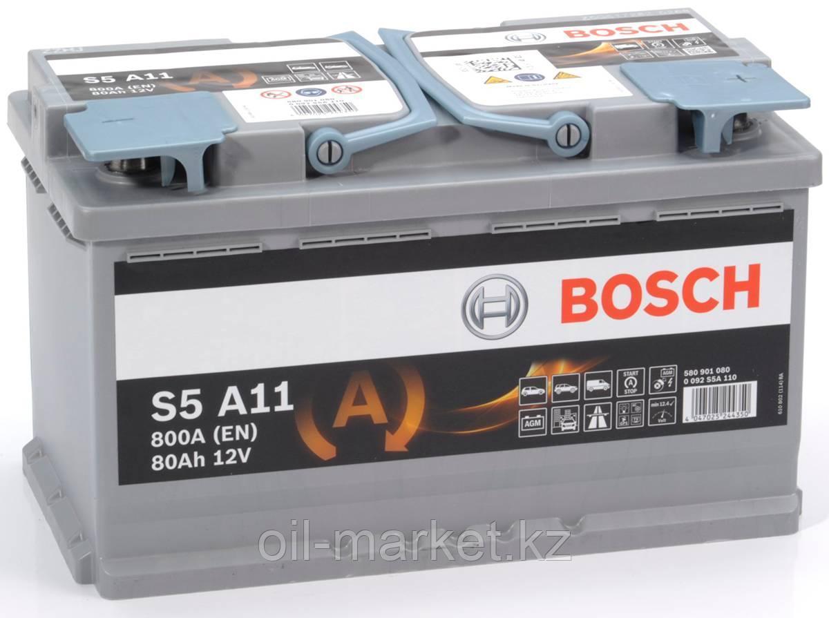Аккумулятор Bosch S6 AGM 80 Ah