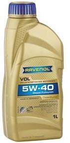 Моторное масло RAVENOL VDL 5w40 1 литр