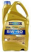 Моторное масло RAVENOL VDL 5w40 4 литра