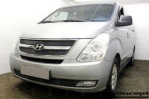 Защита радиатора Hyundai Starex H1 II 2007-2015 black низ