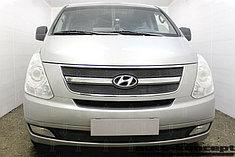 Защитно-декоративные решётки радиатора Hyundai Starex H1 II 2007-2015